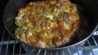 Фокачча-Пирог с соусом Песто .Пирог с сыром.Несладкая дрожжевая выпечка.