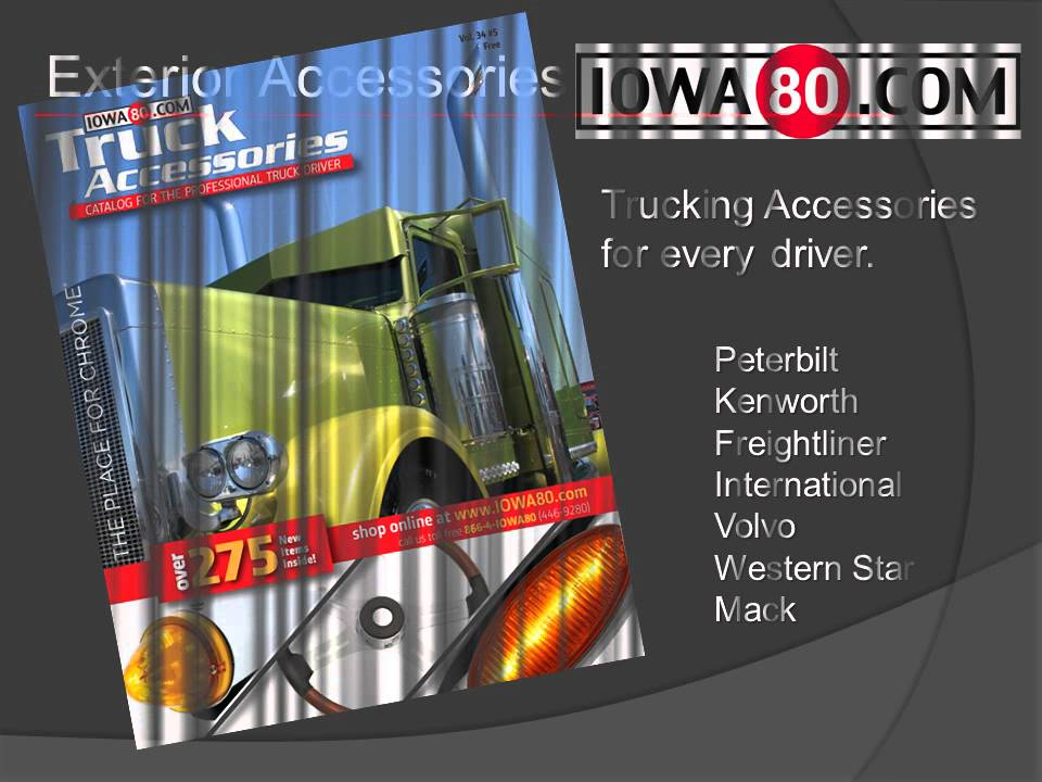 IOWA80 COM The Place for Chrome - Truck Accessories for Professional Drivers