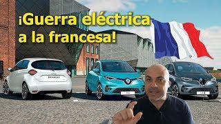 NUEVO RENAULT ZOE vs Peugeot e-208 y Corsa eléctrico: Precio e ideas detrás