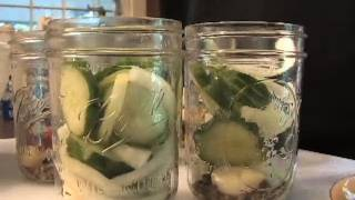 Bread And Butter Pickles Recipe & Canning : Gardenfork.tv