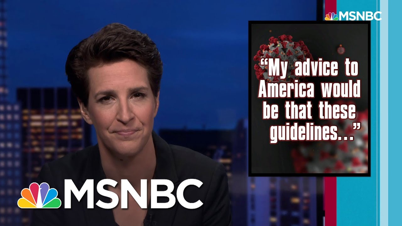 Maddow: Lack Of US National Coronavirus Policy Is Insane. And Fatal. | Rachel Maddow | MSNBC