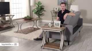 Belham Living Edison Reclaimed Wood Nesting Tables - Product Review Video
