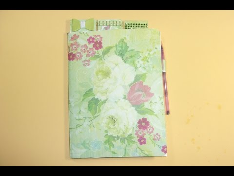 Making a Cute Composition Notebook for School or Gifts