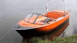 V8 ЗМЗ-511 в катере Чибис