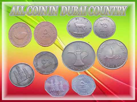 Dubai country files 5,10,25,50,1 dirhams coins(UAE)