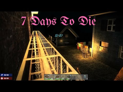7 Days To Die S1 Ep7 -  Hospital and Searching for food