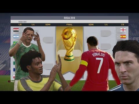 RUSIA 2018 EN FIFA - ESTOS SON LOS 16 CLASIFICADOS A 8VOS DE FINAL