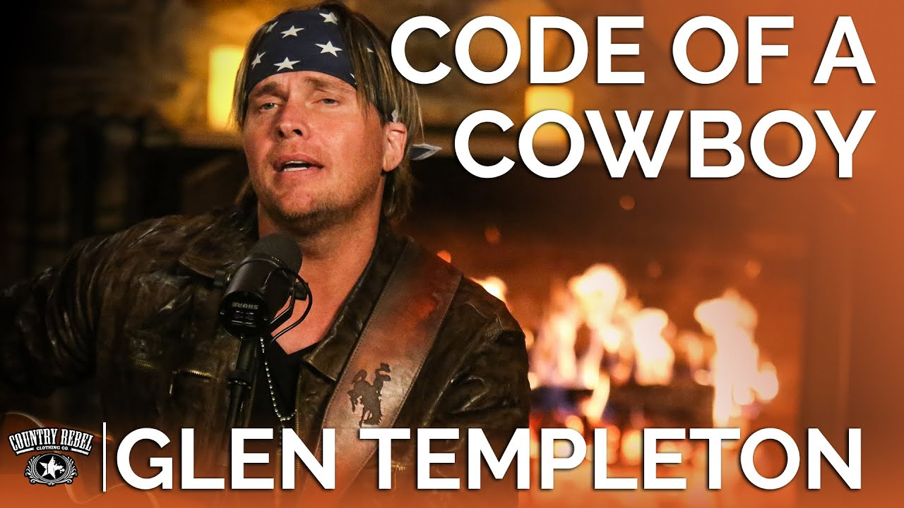 Glen Templeton — Code Of A Cowboy (Acoustic) // Fireside Sessions