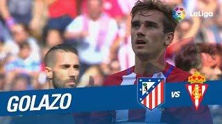 Golazo de Griezmann (3-0) Atlético de Madrid vs Sporting de Gijón