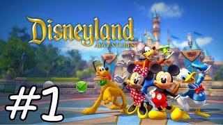 MICKEY MOUSE, DONALD Y GOOFY en Español - Vídeos de Juegos para Niños - Disneyland Adventures #1