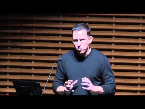 Peter Thiel 2015 – Returns to Stanford to Share Business Tips from Zero to One