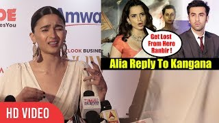 Alia Bhatt Reply To Kangana Ranaut's Comment | Some Actor Are Afraid Of Speaking On Politics