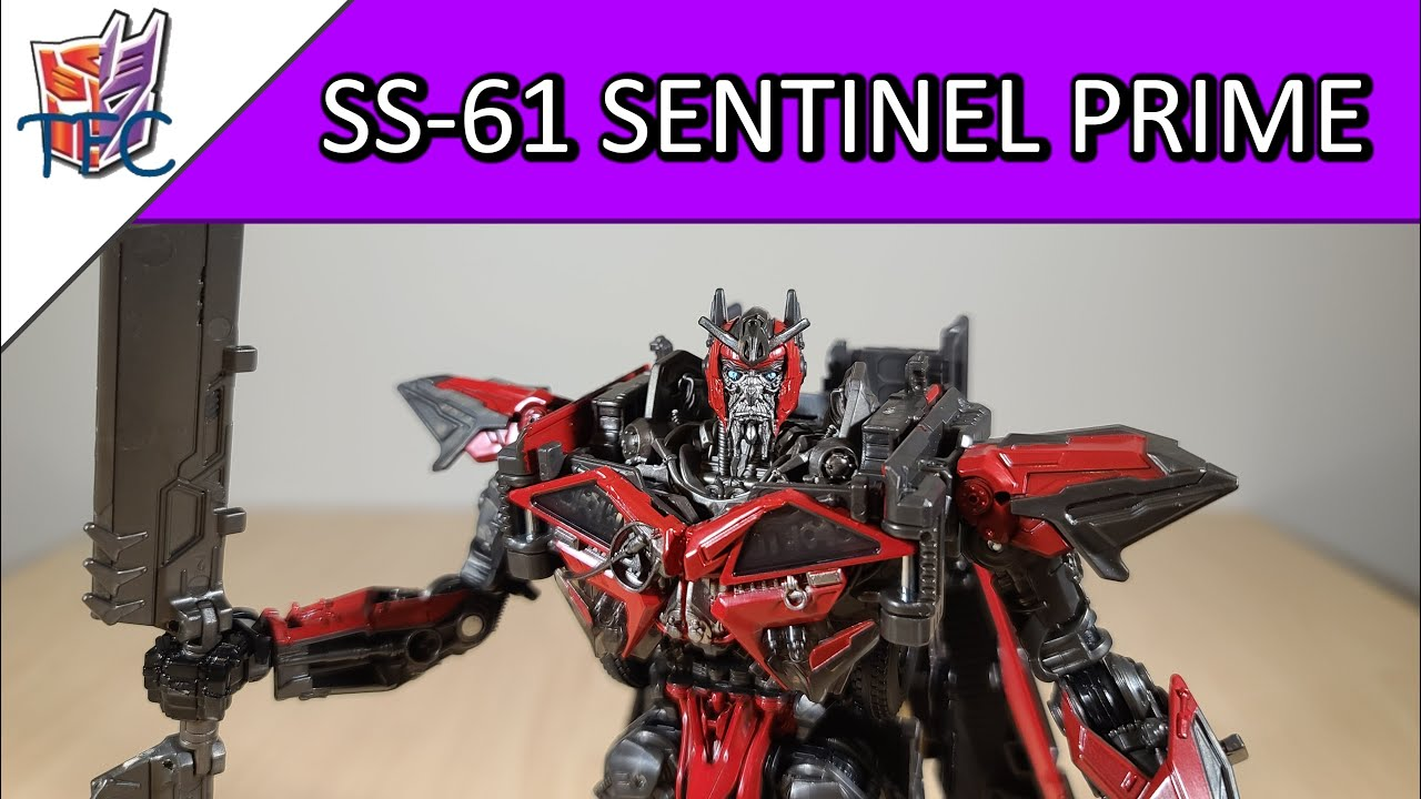 TF Collector Studio Series Sentinel Prime Review!
