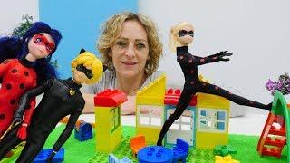 Spielspaß mit Puppen - Ladybug und Cat Noir suchen Antibug