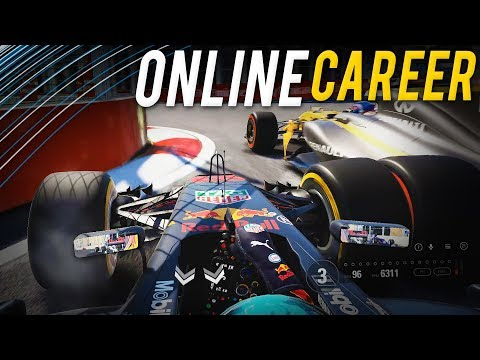 OVERDONE IT! | F1 2017 Co-op Online Career #8 | Azerbaijan GP