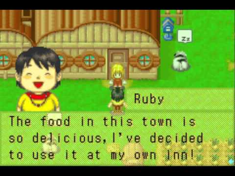 Ruby's Arrival On Harvest Moon: More Friends Of Mineral Town