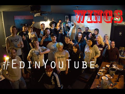 #EdinYouTube Meetup 1 - Wings Launch Celebration Timelapse - EDINBURGH, SCOTLAND