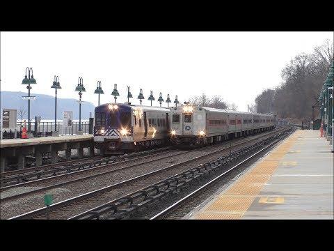Metro-North Railroad & Amtrak Evening Rush Hour Hudson Line Trains @ Riverdale (3/1/19)