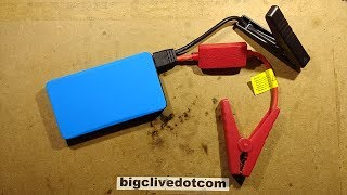 Shorting out a fully charged cheap lithium jump starter.  (It didn't end well.)