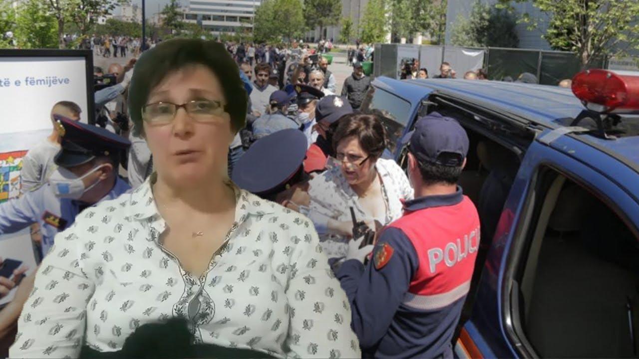 Flet me lot në sy aktivistja e dhunuar nga Policia: Kam një djegie të brendshme, shpresoj mos jetë hemorragji
