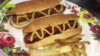 ساندويتش النقانق Hot dog