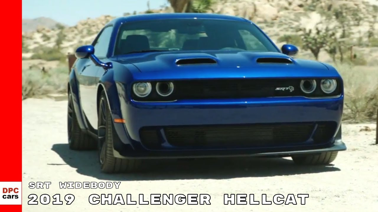 2019 Dodge Challenger Srt Hellcat Widebody Youtube