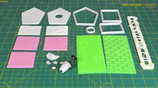How To Make A Bird House Cake Topper Using The Fmm Sugarcraft More Than A Bird House Cutter