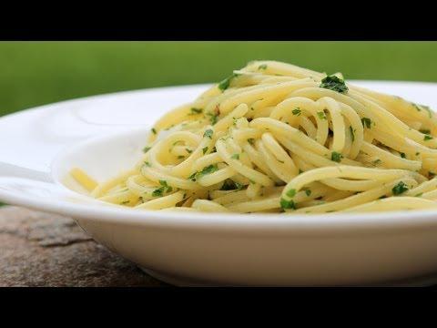 Scott Conant's Spaghetti Aglio e Olio