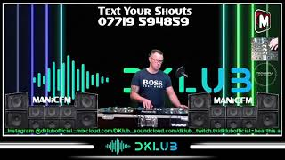 MANiCFM - DKLUB | TECHNO - Manic Mondays