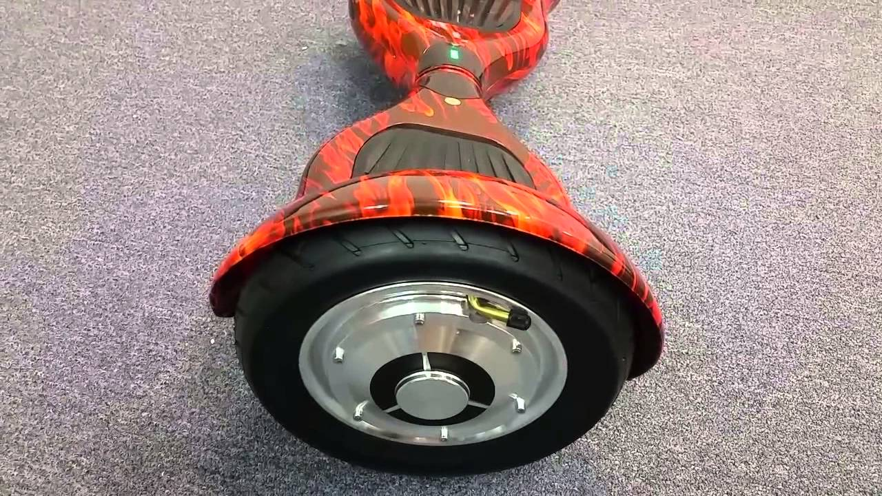 Suv Style Hoverboard With Inflatable Wheels Reviewed Youtube