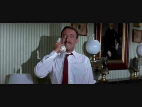 Peter Sellers - A shot in the dark (fight scene)