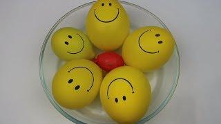 Gülen Yüz Balon Patlatmaca Num Noms Slime, Kaza Yaptım. Making Slime With Balloons! Bidünya Oyuncak