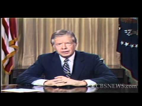 "CBS News archives: Carter's famous ""malaise speech"""
