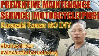 Download Preventive maintenance service of motorcycle(PMS)DIY Kawasaki rouser 180