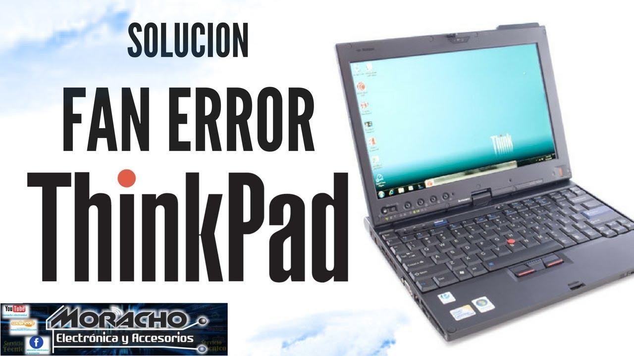 Fan Error Lenovo Thinkpad X200 X220i X230 X230i Solución