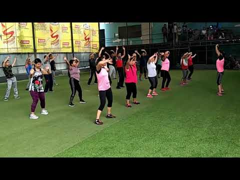 Madhyapur fitness rhymes Weight Loose  Cardio Zumba Exercise(1)