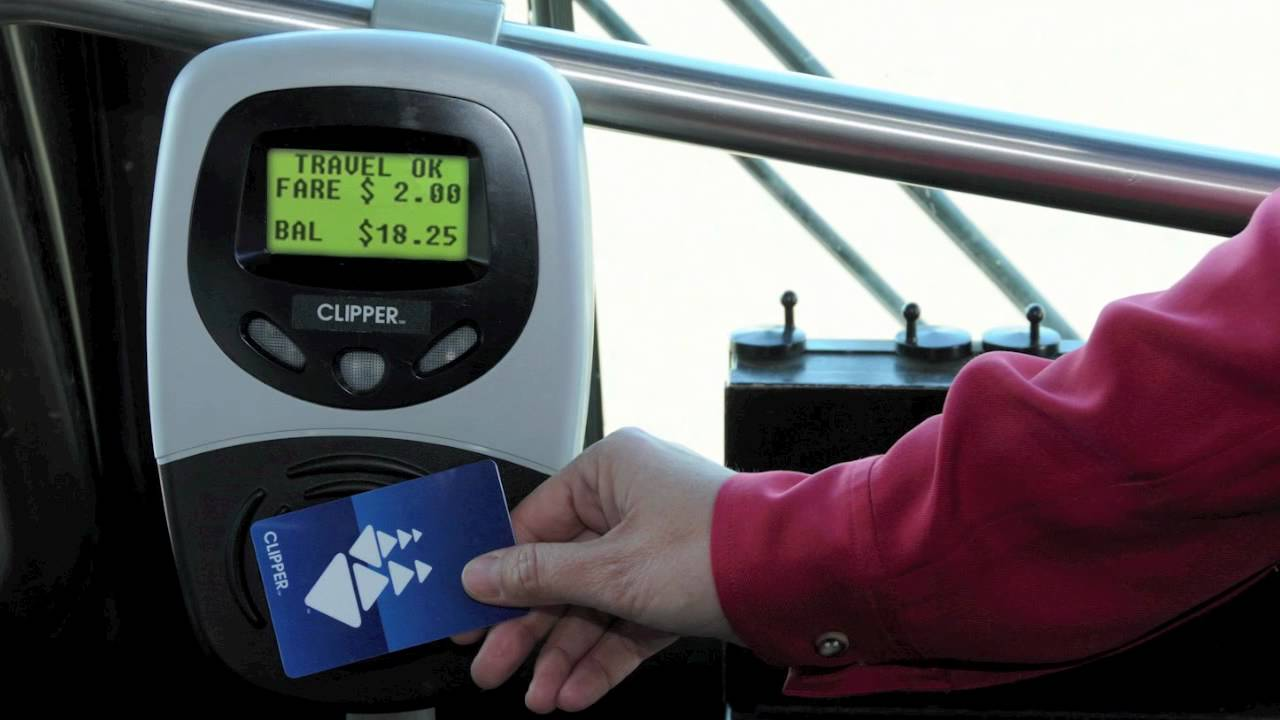 how to use clipper card on bus
