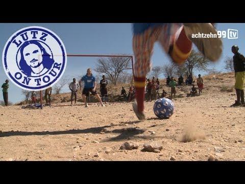 """Lutz on Tour - Kapitel 1 - """"Straßenfußball"""" in Namibia"""