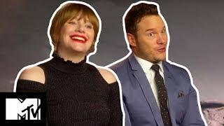 Jurassic World: Fallen Kingdom's Chris Pratt & Bryce Dallas Reveal FUNNIEST Moments BTS | MTV Movies