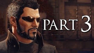 Deus Ex Mankind Divided Part 3 Stealth Pacifist Walkthrough No Commentary [1440p 60FPS PC ULTRA]