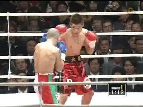 長谷川穂積 vs シモーネ・マルド...