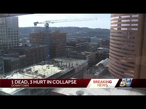 Witness describes chaos of downtown Cincinnati building collapse