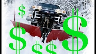 Make EASY MONEY snow plowing!