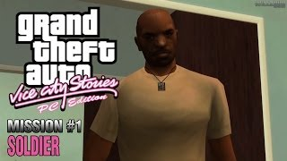 GTA Vice City Stories: PC Edition - Mission #1 - Soldier (HD)