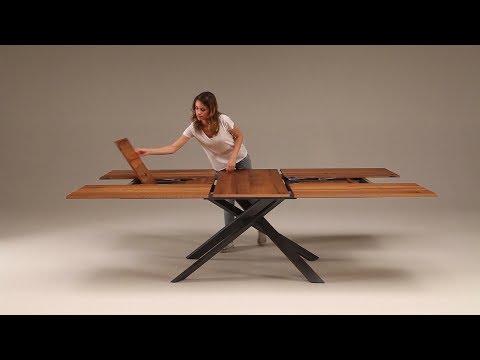 Extendable tables - Space saving design furniture by Ozzio Italia