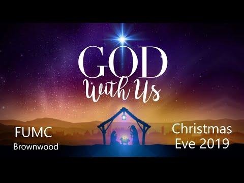 FUMC Brownwood Sanctuary Service, Christmas Eve 2019