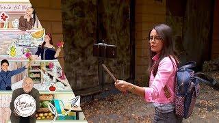 Liza investiga la casa abandonada   Al buen entendedor...    Como dice el dicho