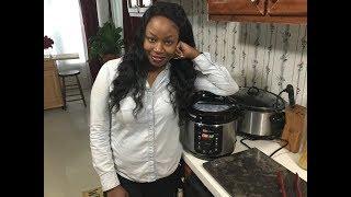 Pressure cooker cabbage rolls