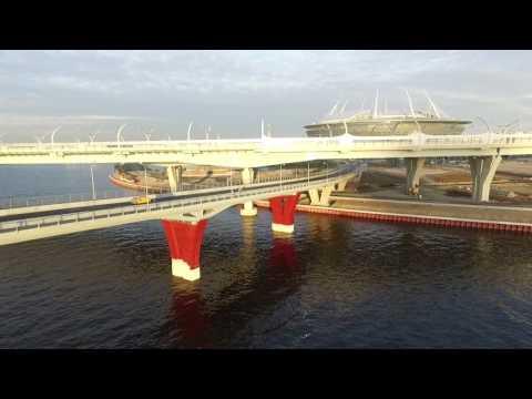 Яхтенный мост в Санкт-Петербург - фото, описание