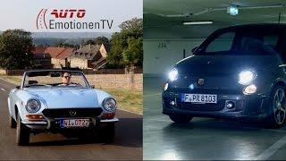 Fiat Abarth 595 Competizione vs. Fiat 124 Spider Test Review Drive - AutoEmotionenTV